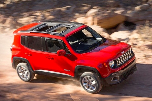Jeep Renegade Spain February 2015