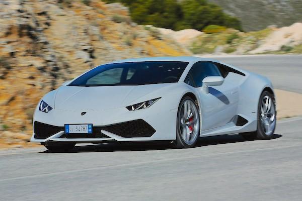 Lamborghini Huracan UK 2014