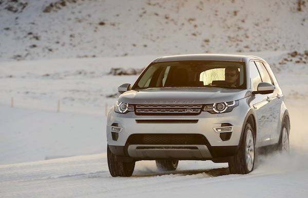 Land Rover Discovery Sport Europe January 2015