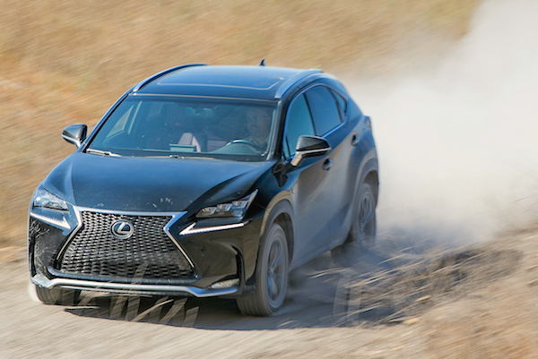 Lexus NX USA February 2015. Picture courtesy motortrend.com