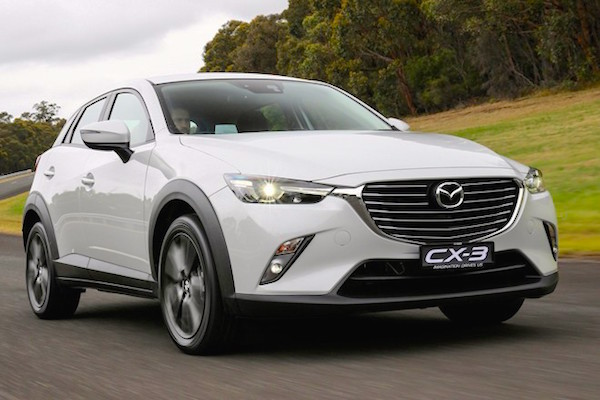 Mazda CX-3 Japan February 2015. Picture courtesy autocar.jp