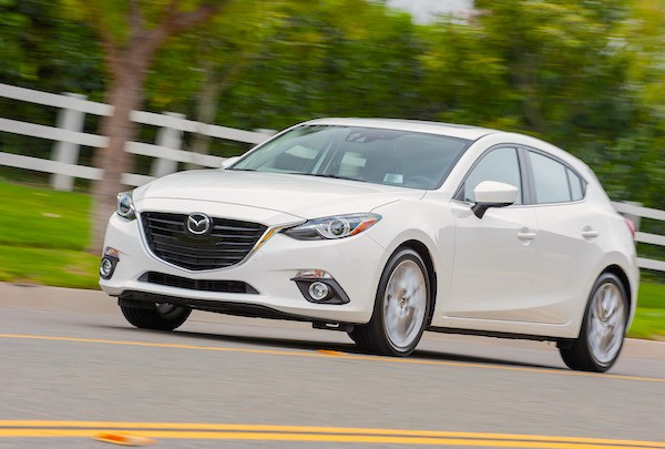 Mazda3 Mexico March 2015. Picture courtesy motortrend.com
