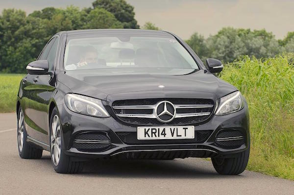 Mercedes C Class UK February 2015. Picture courtesy autocar.co.uk