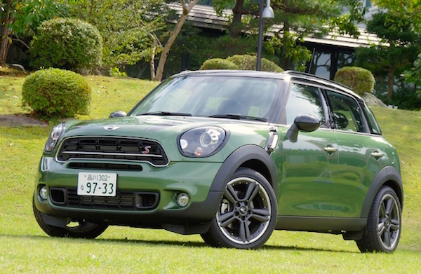 Mini Countryman Japan February 2015. Picture courtesy response.jp