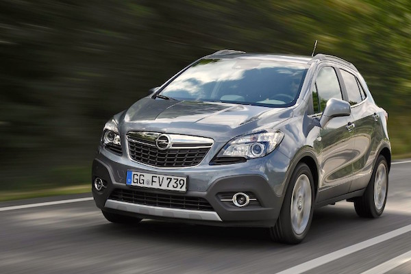 italy february 2015 opel mokka and smart forfour break records. Black Bedroom Furniture Sets. Home Design Ideas
