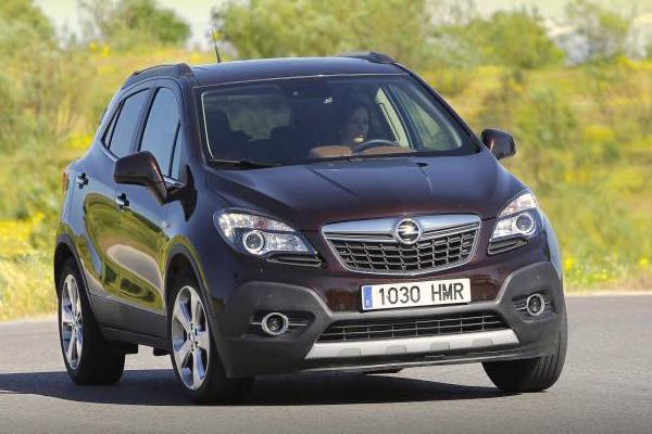 Opel Mokka Spain February 2015. Picture courtesy auto10.com