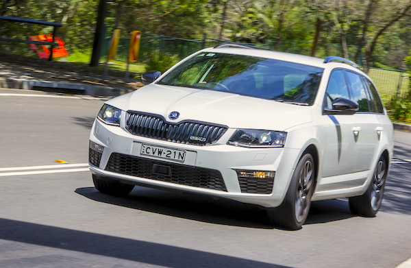 Skoda Octavia Switzerland February 2015. Picture courtesy caradvice.com.au