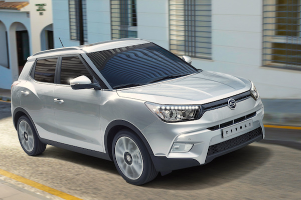 SsangYong Tivoli South Korea February 2015