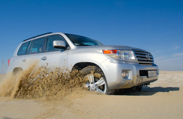Toyota Land Cruiser Kazakhstan January 2015. Picture courtesy auto.lafa.kz