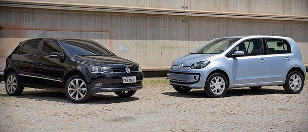 VW Gol Up Brazil February 2015. Picture courtesy revistaautoesporte.com