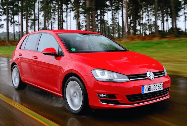 VW Golf Spain July 2015. Picture courtesy autoexpress.co.uk