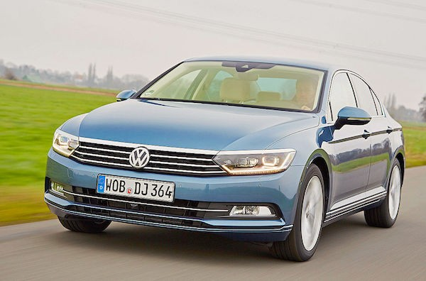 VW Passat Poland May 2015. Picture courtesy autobild.de