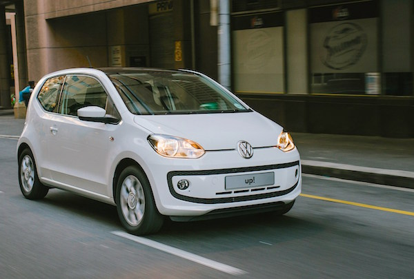 VW Up South Africa February 2015