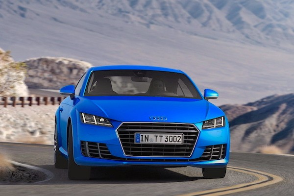 Audi TT France March 2015. Picture courtesy largus.fr