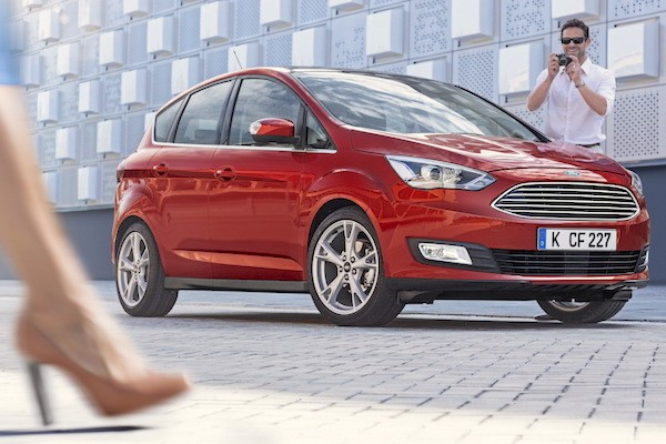Ford C-Max Italy March 2015