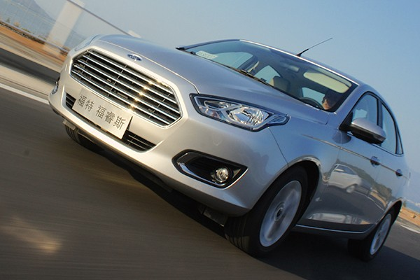 Ford Escort China March 2015. Picture courtesy autov.com.cn