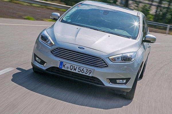 Ford Focus Austria March 2015. Picture courtesy autobild.de