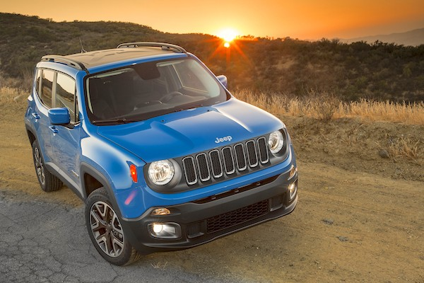 Jeep Renegade Europe June 2015. Picture courtesy motortrend.com
