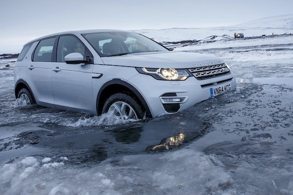 Land Rover Discovery Sport Europe March 2015