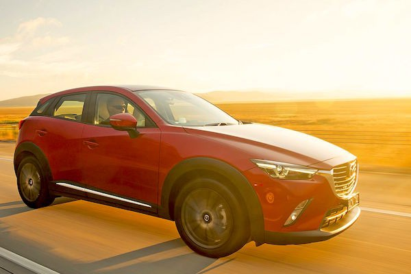Mazda CX-3 Australia March 2015