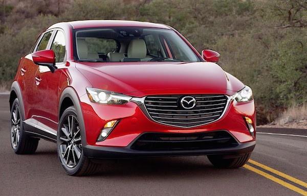 Mazda CX-3 Japan March 2015
