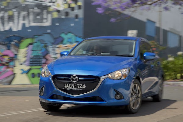 Mazda2 Australia March 2015. Picture courtesy caradvice.com.au