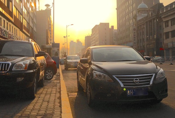 Nissan Sylphy Yanji China September 2015