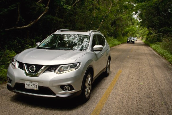 Nissan X-Trail Mexico June 2015. Picture courtesy nissannews.com.mx
