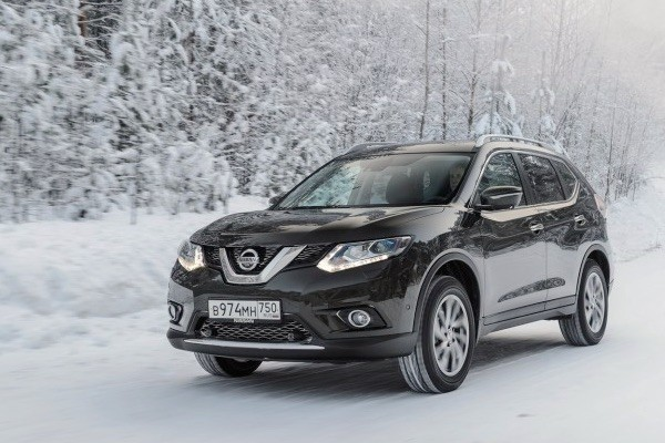 Nissan X-Trail Russia March 2015. Picture courtesy zr.ru