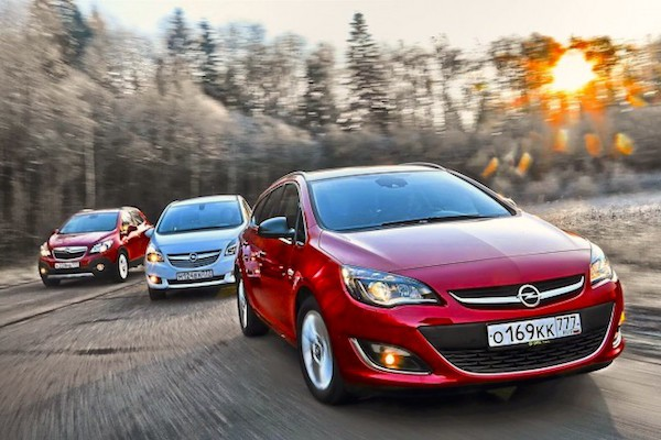 Opel Russia March 2015. Picture courtesy zr.ru