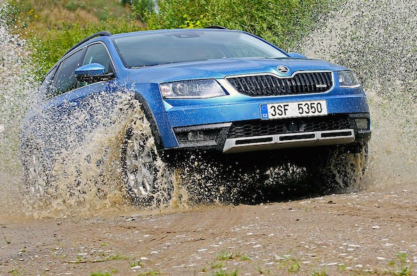 Skoda Octavia Switzerland March 2015. Picture courtesy autobild.de