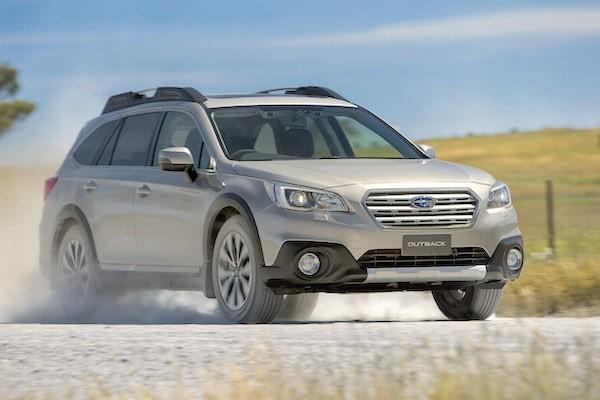 Subaru Outback Australia March 2015