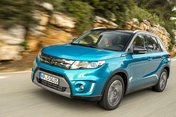 Suzuki Vitara Hungary March 2015. Picture courtesy whatcar.co.uk