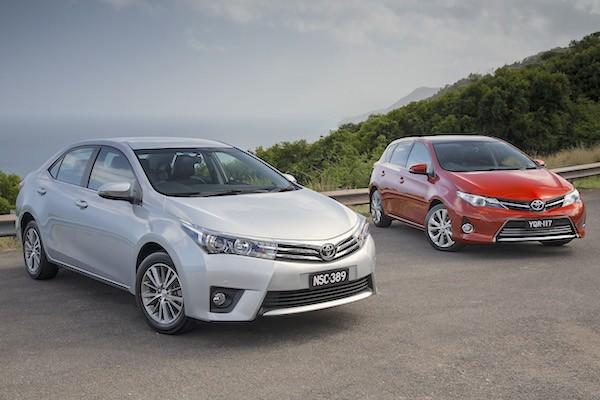 Toyota Corolla Australia March 2015