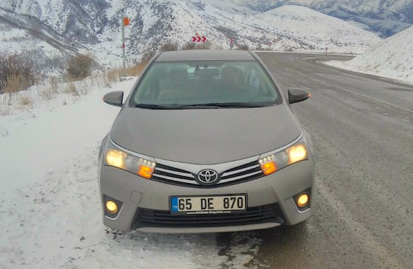 Toyota Corolla Turkey March 2015. Picture courtesy toyotaclubtr.com
