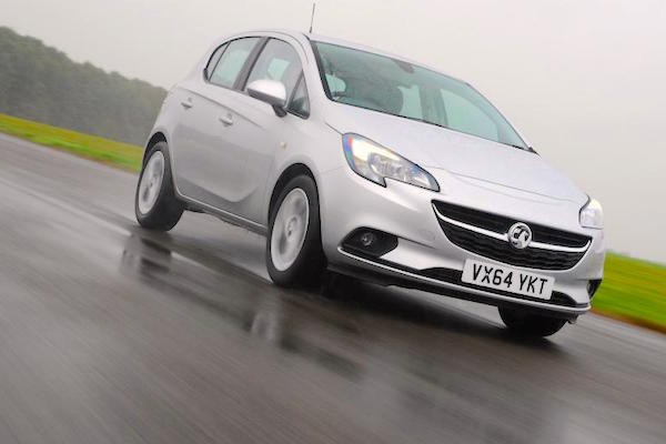 Vauxhall Corsa Europe March 2015. Picture courtesy autoexpress.co.uk