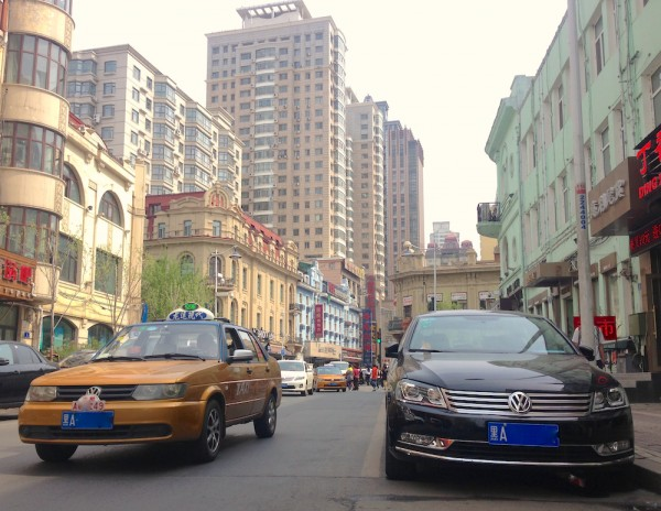 China 2015 Photo Reports The cars of Harbin Heilongjiang province