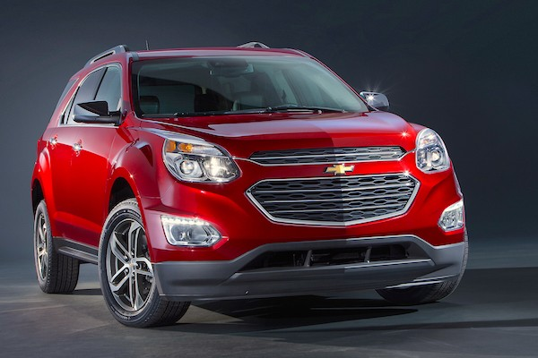 Chevrolet Equinox USA April 2015