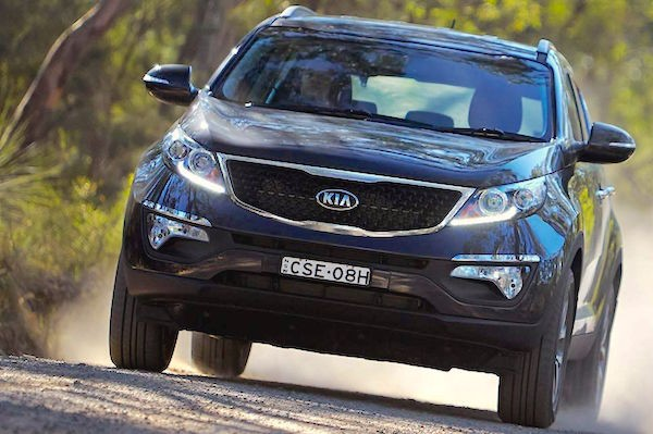 Kia Sportage Colombia April 2015. Picture courtesy carsguide.com.au