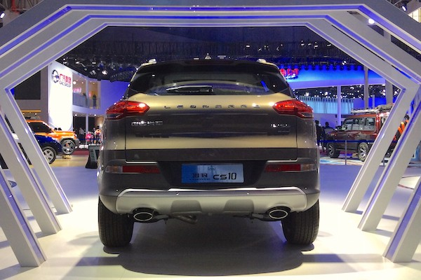 Leopaard CS10 China April 2015