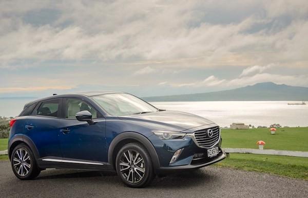 Mazda CX-3 New Zealand April 2015. Picture courtesy driven.co.nz