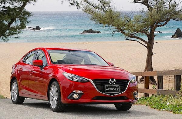 Mazda3 Taiwan April 2015. Picture courtesy u-car.com.tw