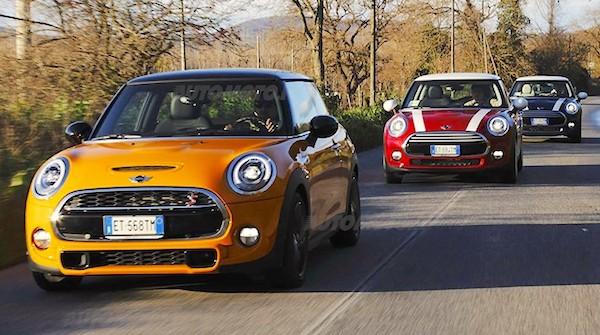 Mini Italy March 2015. Picture courtesy automoto.it