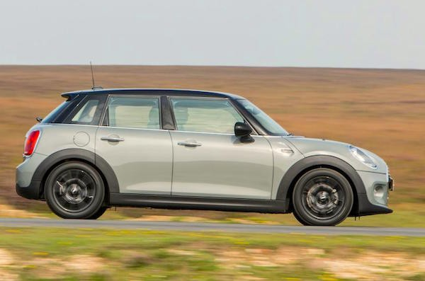 Mini UK April 2015. Picture courtesy autocar.co.uk