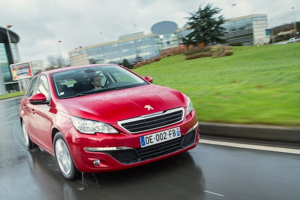 Peugeot 308 Netherlands June 2015. Picture courtesy largus.fr