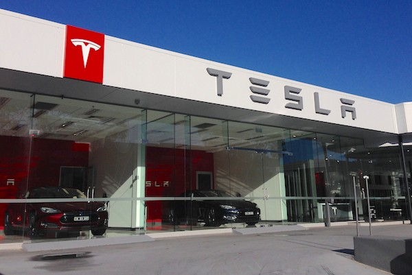 Tesla Sydney dealership