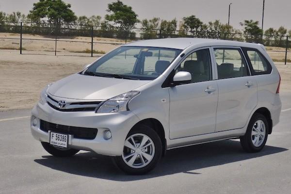 Toyota Avanza Ethiopia 2014. Pictiure courtesy drivearabia.com