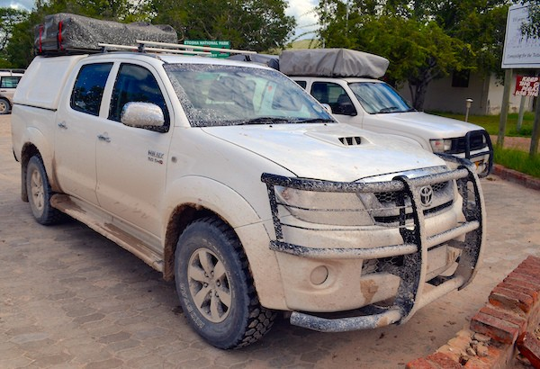 Toyota Hilux Namibia 2014. Picture courtesy Flickr