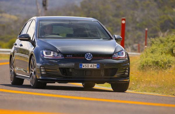 VW Golf Australia April 2015. Picture courtesy caradvice.com.au