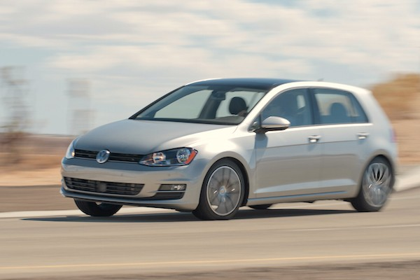 VW Golf Mexico March 2015. Picture courtesy motortrend.com